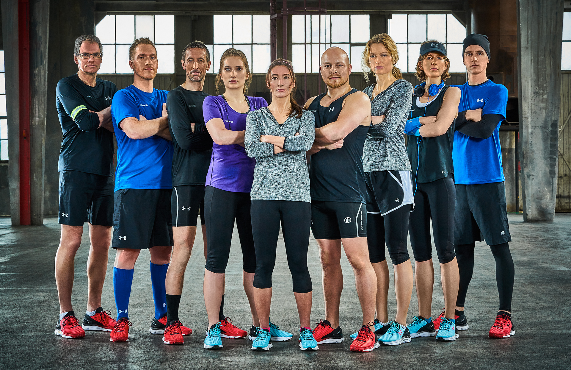 Allianz SE Marketing design fashion collection shooting running sport under armor LAKE5 Consulting GmbH Hannover Germany