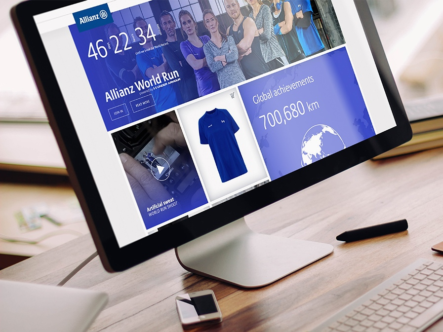 Allianz SE webdesign shop webshop ecommerce website design responsive LAKE5 Consulting GmbH Hannover Germany