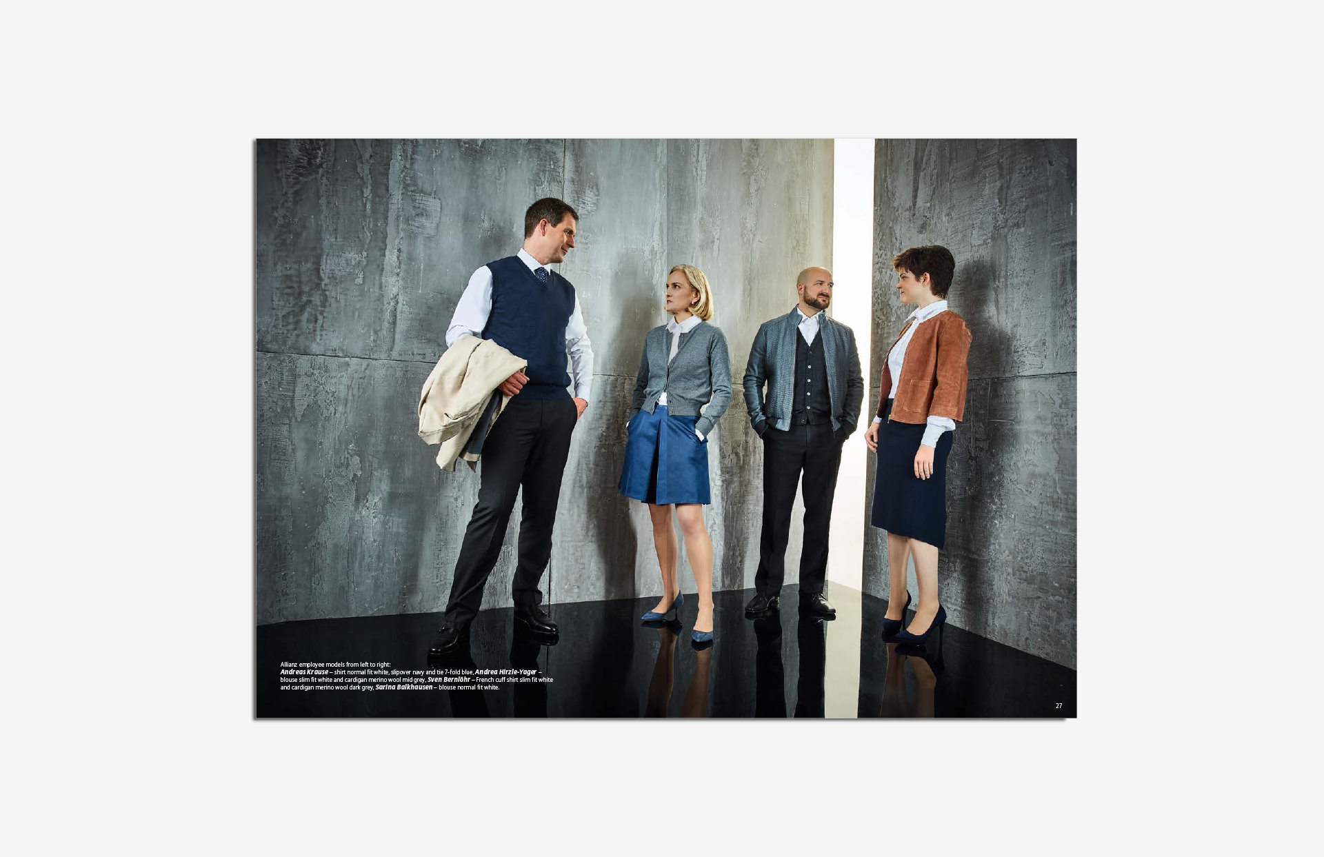 Allianz SE catalog katalog Marketing Strategy design fashion collection shooting business layout print LAKE5 Consulting GmbH Hannover Germany