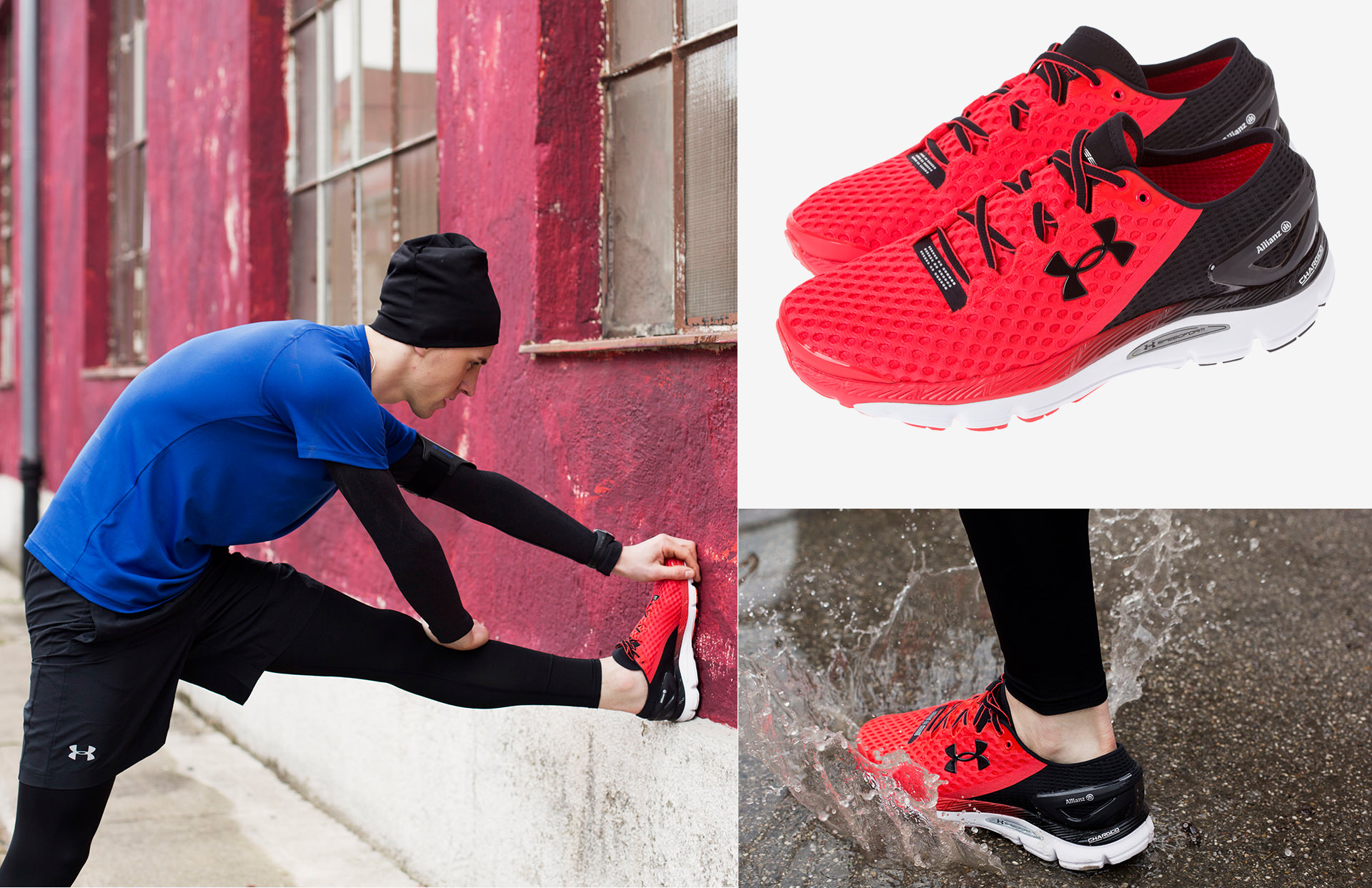 Allianz SE catalog katalog Marketing Strategy design fashion collection shooting running sport under armor shoes layout print LAKE5 Consulting GmbH Hannover Germany