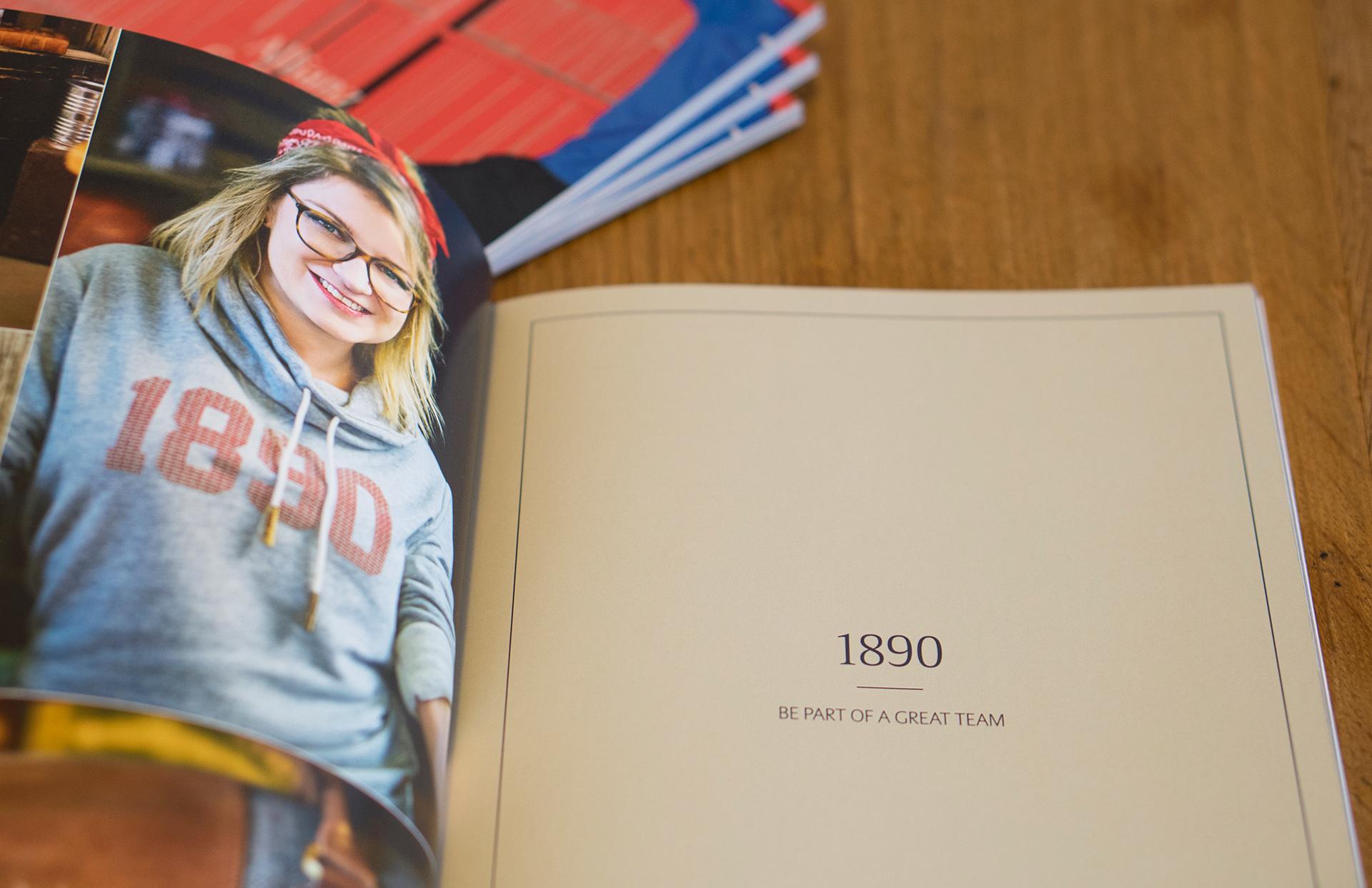 Allianz SE catalog katalog Marketing Strategy design fashion collection shooting 1890 layout print LAKE5 Consulting GmbH Hannover Germany