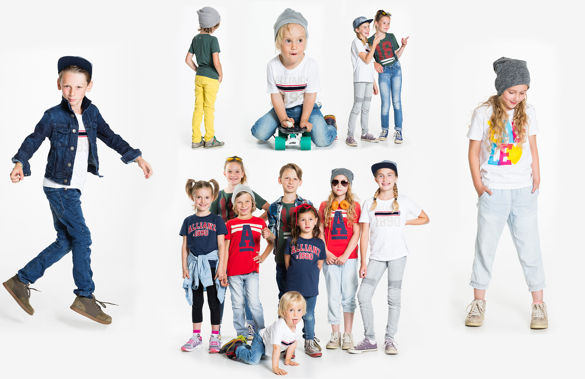 Allianz SE shooting kids products fahion design collection cool LAKE5 Consulting GmbH Hannover Germany